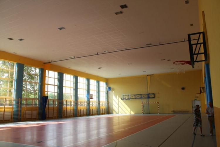 Sala gimnastyczna w Nowakowie